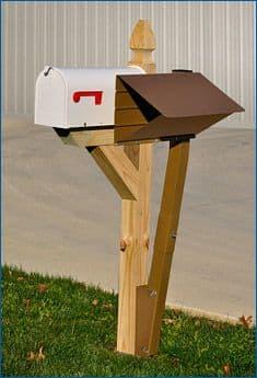wooden mailbox kits